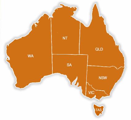 Australia Map Nt.Australia Map